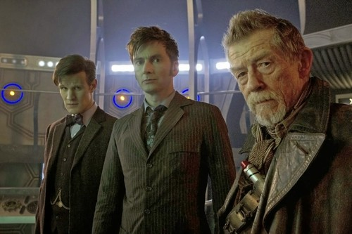 Doctor_Who__matt_Smitt_david_Tennant_the_day_of_the_doctor_john_hurt
