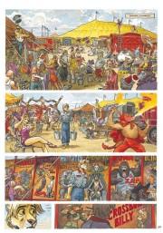 El circo será uno de los escenarios donde se desarrolle la tragedia