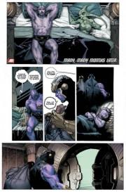 Thanos recorre la galaxia como pirata espacial con una mujer en cada espaciopuerto