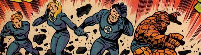 Los Cuatro Fantásticos de Jack Kirby