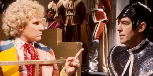 El sexto Doctor y el Valeyard, tal vez el trece