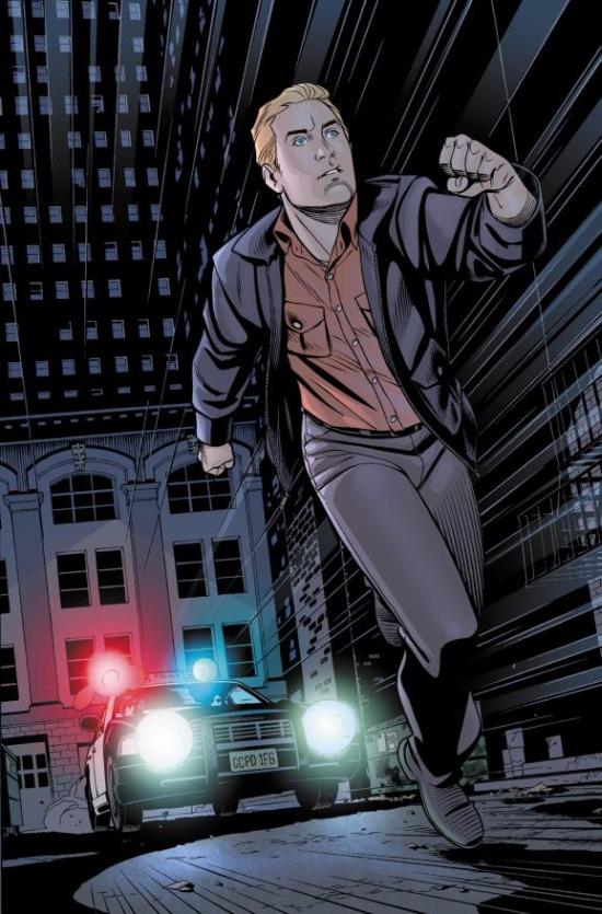 Páginas interiores de Chris Sprouse para The Flash #25