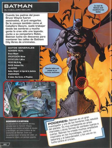 Páginas dedicadas a Batman y a Krypto, el superperro.