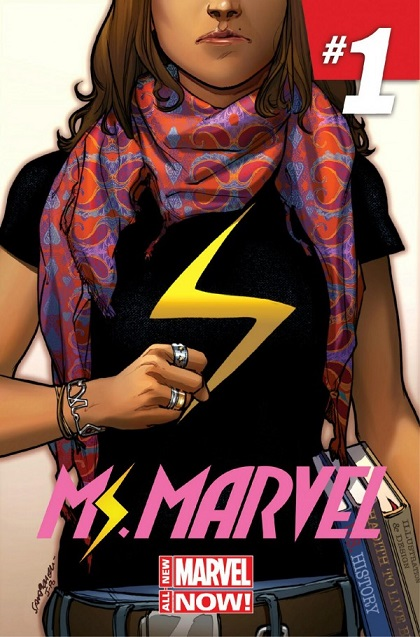 Ms. Marvel Portada 1