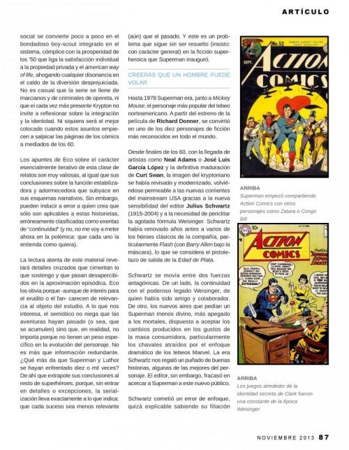Paginas 87-89  Zona Negativa : La revista - Especial Superman