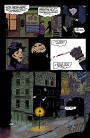 Algunas páginas de Mike Mignola para Gotham a Luz de Gas