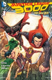Justice League 3000 1 cover howard porter