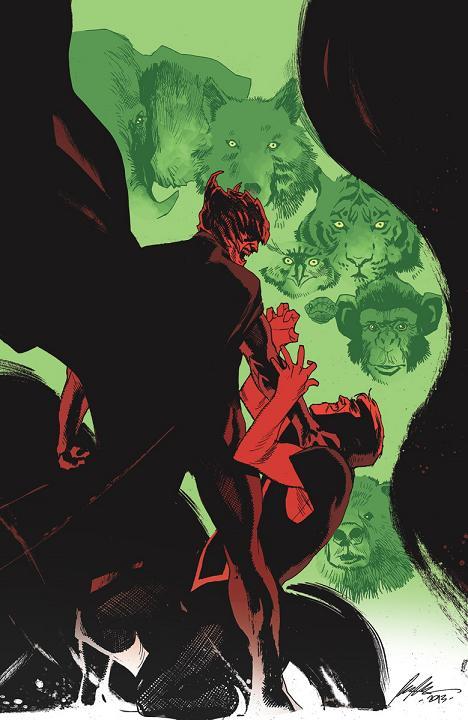 Portada del Animal Man #28 por Rafael Albuquerque