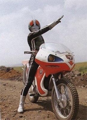 Kamen Rider, una de las principales creaciones televisivas de Ishinomori.