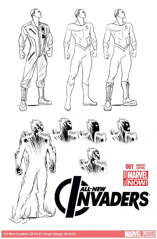 Explorando All-New Marvel Now: All-New Invaders | Zona Negativa