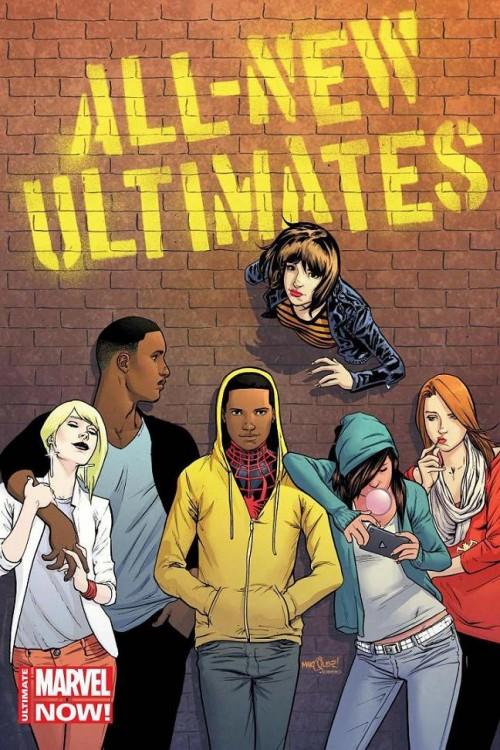 Los miembros de los Nuevos Ultimates.