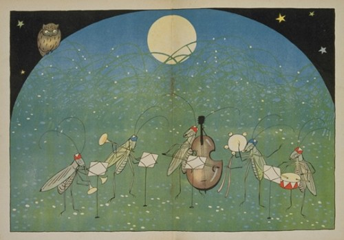 Honda Shotaro, The Insects Orchestra, en Kodomo no Kuni, Septiembre de 1922