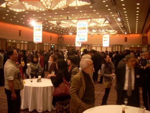 Un momento de la entrega de los Premios Shogakukan de 2012, en el hotel Imperial