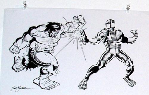 Hulk, Rom, Buscema y Mantlo