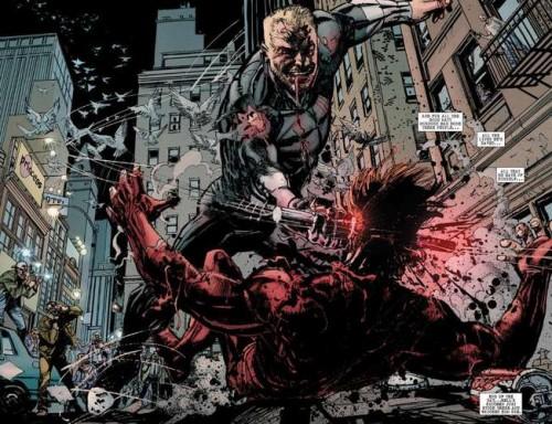 La muerte de Daredevil desencadena los acontecimientos de esta historia