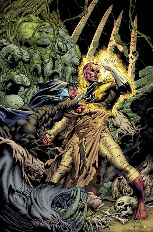 Portada de Sinestro #1, por Dale Eaglesham