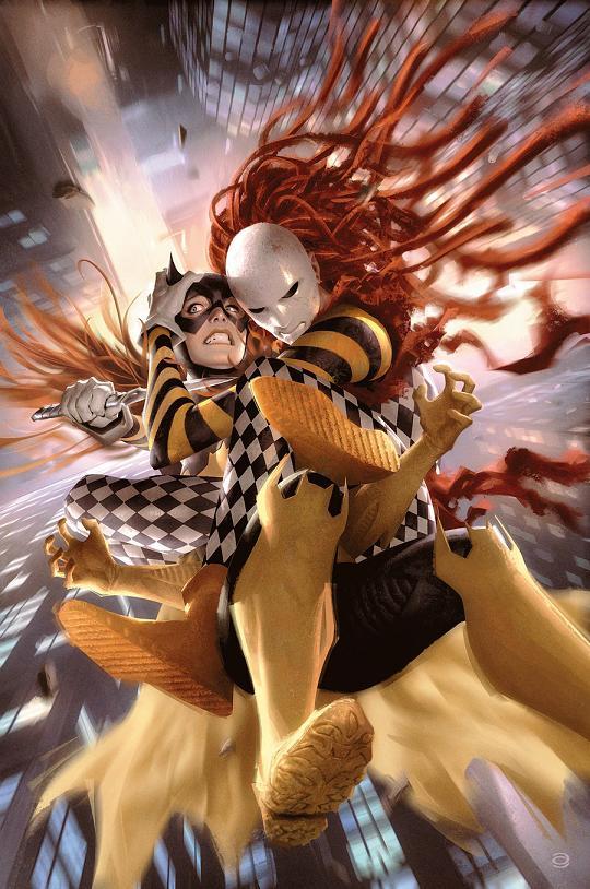 Portada del Batgirl #30 por Alex Garner