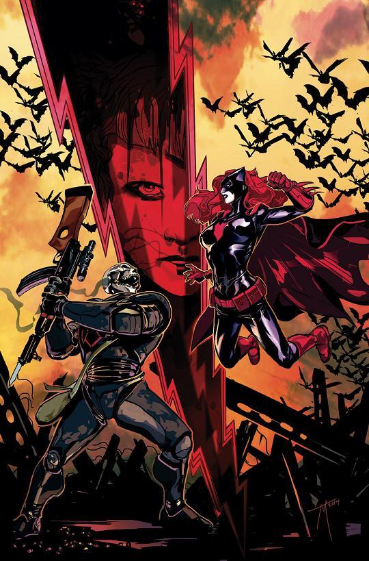 Portada del Batwoman Annual #1 por Trevor McCarthy