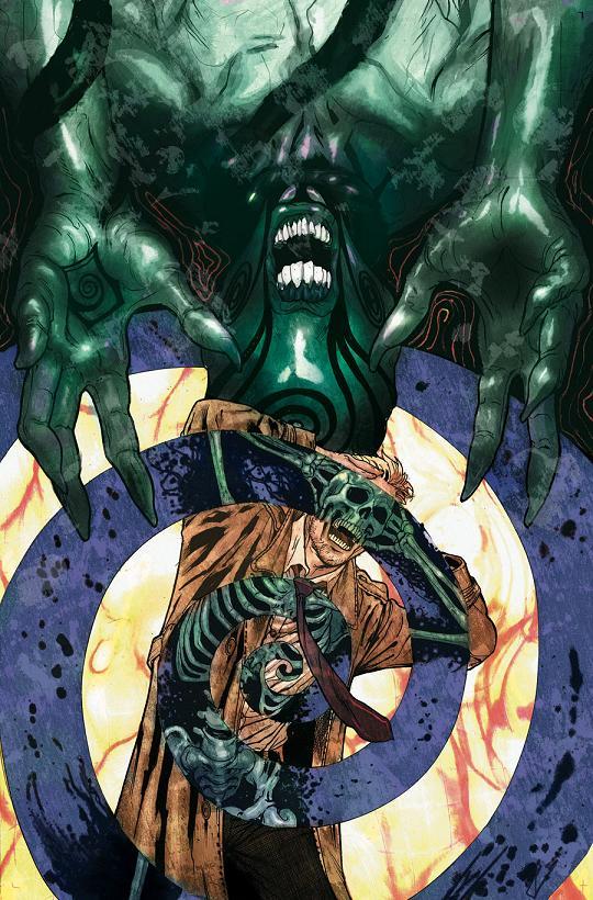 Portada del Constantine #13 por Víctor Ibáñez