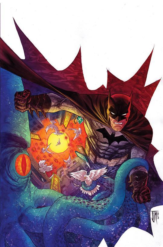 Portada del Detective Comics #30 por Francis Manapul