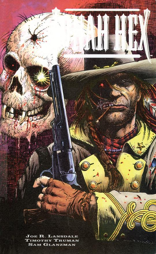 Portada del Jonah Hex: Shadows West por Timothy Truman