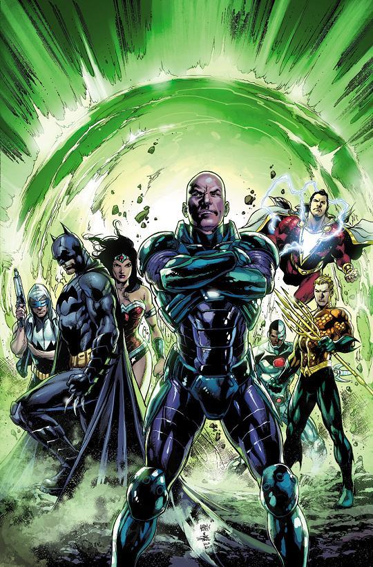 Portada del Justice League #30 por Ivan Reis y Joe Prado