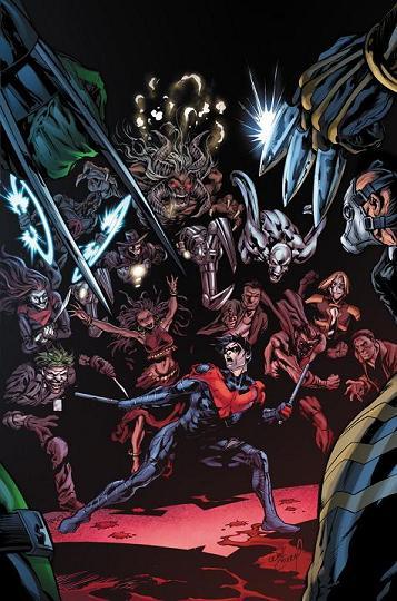 Portada del Nightwing #29 por Will Conrad, el último número de Kyle Higgins