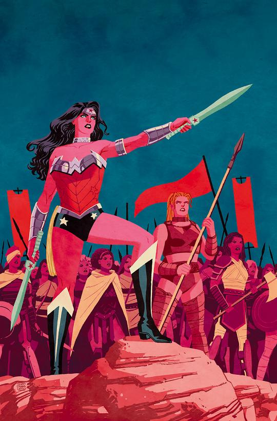 Portada del Wonder Woman #30 por Cliff Chiang