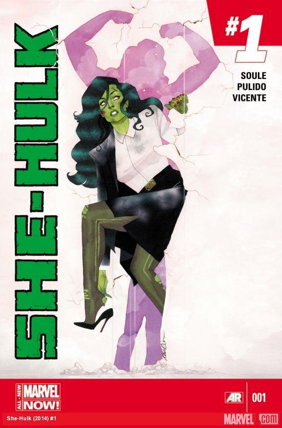 She-Hulk Portada 1