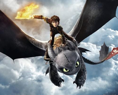 Cine 2014_Como entrenar a tu dragon 2