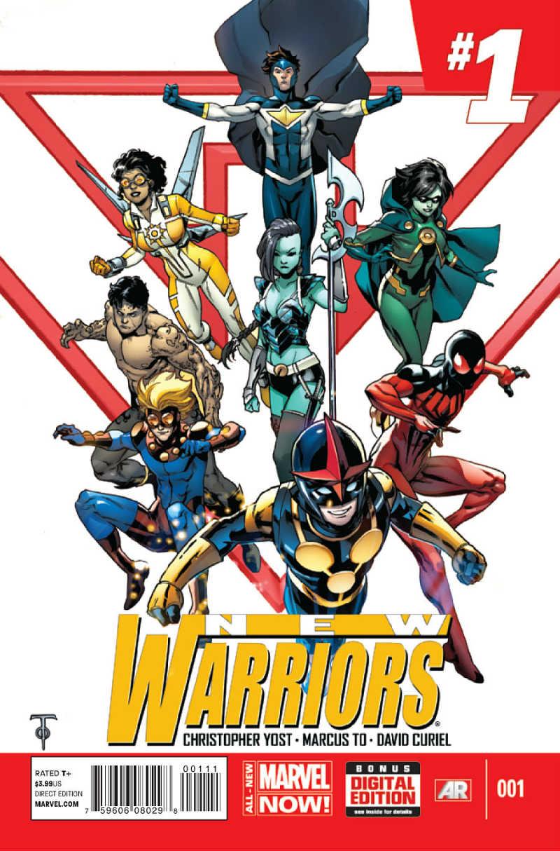 New Warriors vol 5 Portada 1