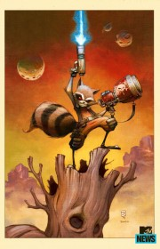 Rocket Racoon Portada Skottie Young