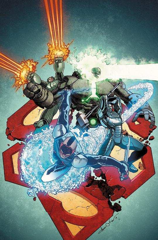 Portada del Action Comics #31 por Aaron Kuder