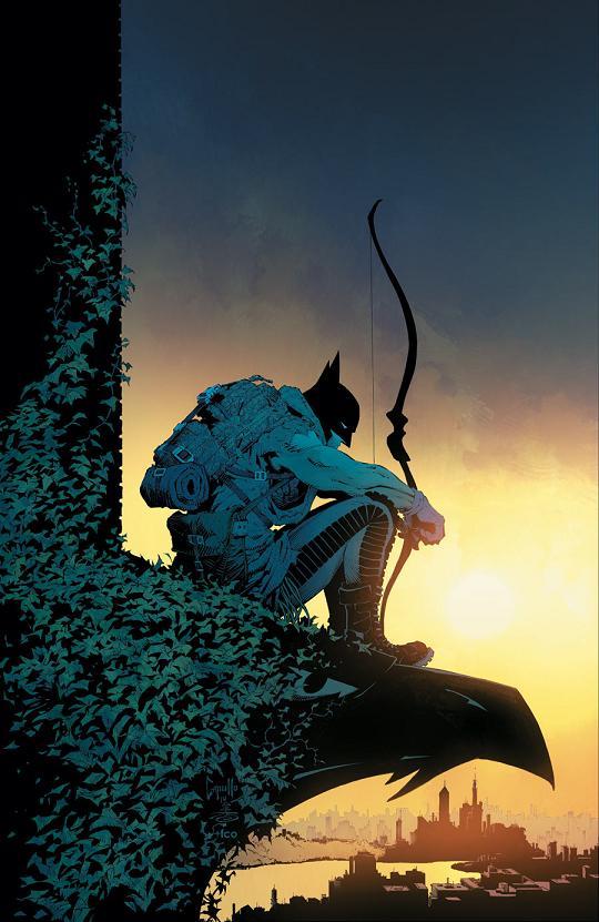 Portada del Batman #31 por Greg Capullo