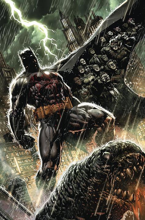Batman: Eternal será la primera serie semanal del nUDC