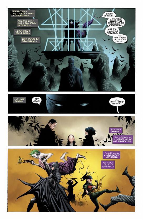 primera página del Batman/Superman #8