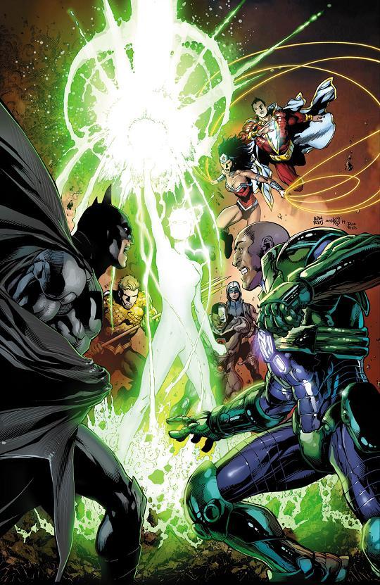 Portada del Justice League #31 por Ivan Reis y Danny Miki