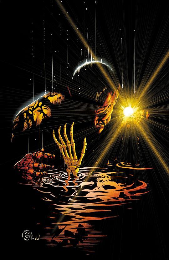 Portada del Sinestro #2 por Dale Eaglesham