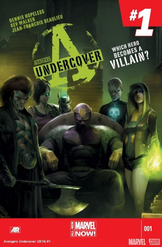 Avengers Undercover Portada 1