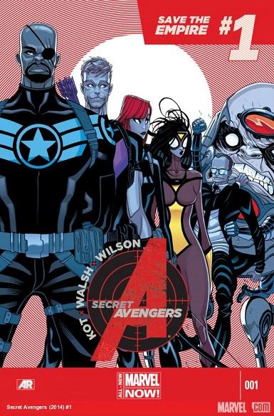 Secret Avengers Portada 1