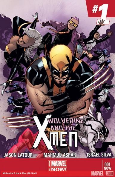 Wolverine & the X-men Vol. 2 Portada 1