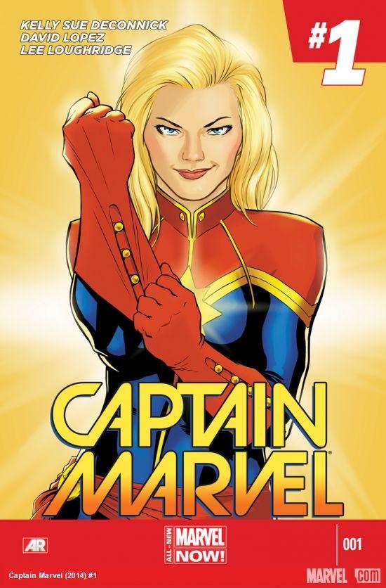 Captain Marvel Portada 1