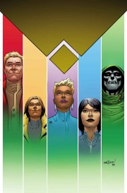 Portada de Avengers A.I. 12, último número de la serie
