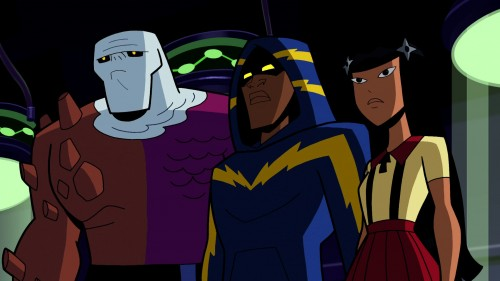 Curiosa y Juvenil la aparición de los Outsiders en la asedie Batman: The Brave and the Bold