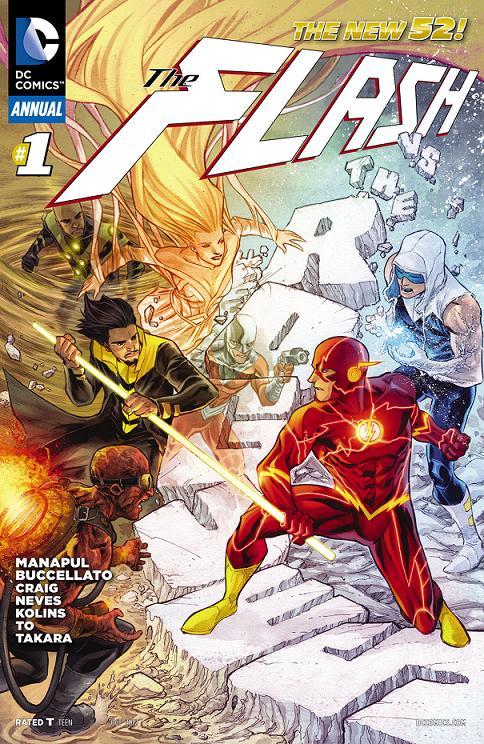 Portada USA del The Flash Annual #1