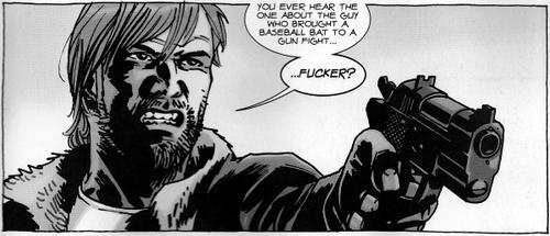 Rick Grimes decide resolver el problema de Negan a su manera