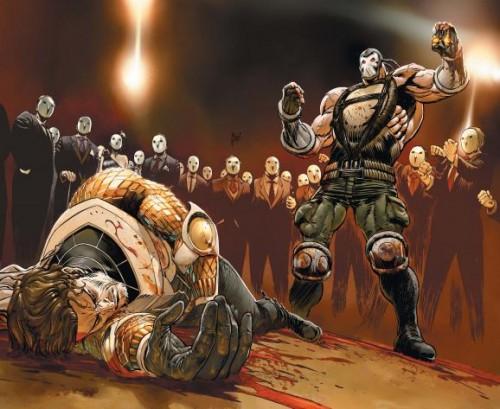 Bane ha tenido un enorme peso en la serie y en Forever Evil