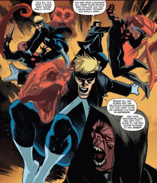 Rafael Albuquerque acercó al personaje a un tono más superheroico y de acción