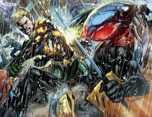 El trabajo de Ivan Reis como dibujante de Aquaman sólo puede ser descrito como espectacular