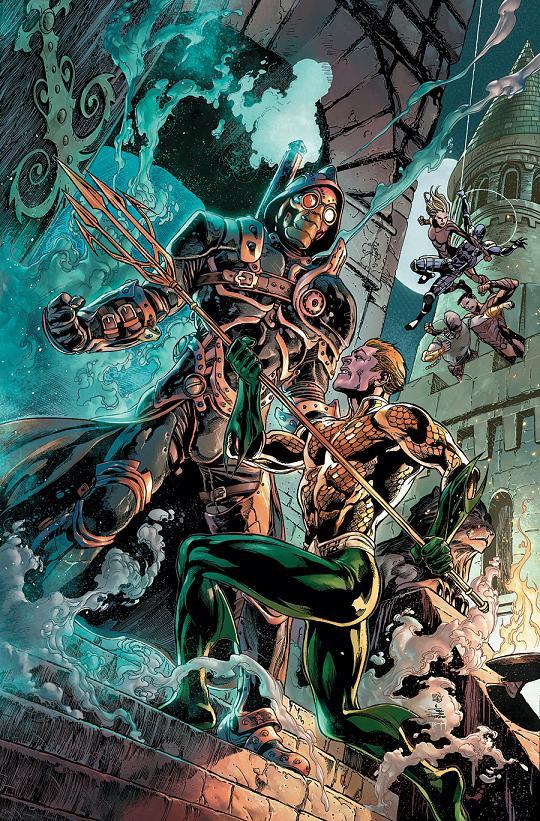 Portada del Aquaman and the Others #3 por Ivan Reis